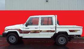 toyota land cruiser pickup double cabine toyota land. Black Bedroom Furniture Sets. Home Design Ideas